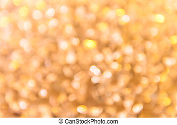Abstract circular bokeh from light decoration for background
