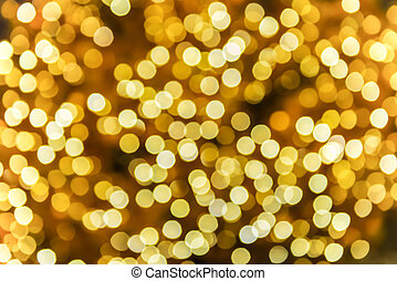 Abstract circular bokeh from light for background