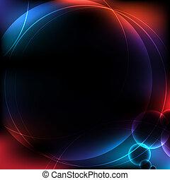 abstract circular design backgroun