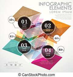 abstract, cirkel, infographics