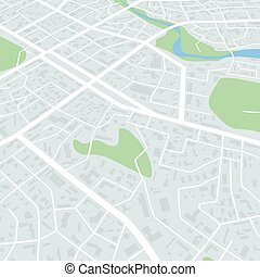Abstract city map. City residential district scheme. City district plan. Vector illustration