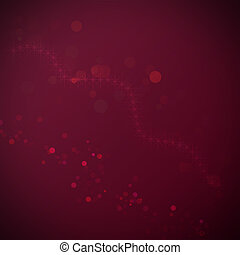 Abstract claret background with a bokeh for design
