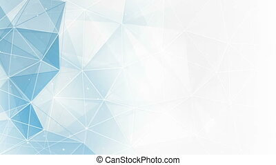 abstract clean tangle background loop