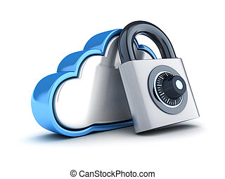 Abstract cloud storage and lock