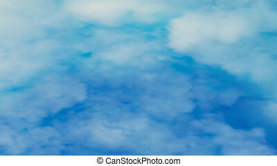 blue background with abstract clouds