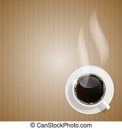 Abstract coffee background vector illustration