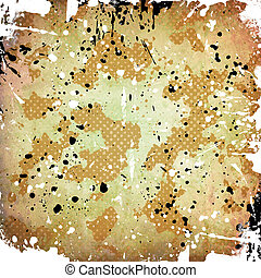 Abstract color background, with stains