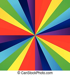 Abstract color burst rainbow background 001