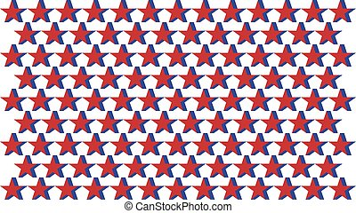 Abstract color stars background