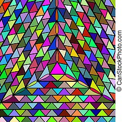 abstract colored background triangles - abstract colored...