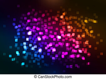 Abstract colorful background. EPS 8