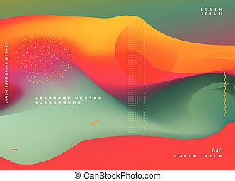 abstract colorful background gradient design