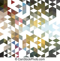 Abstract colorful background made of triangles EPS10 Vector