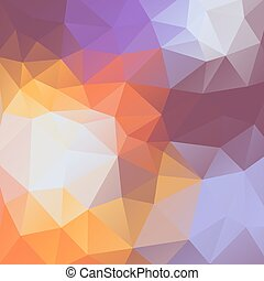 Abstract colorful background of triangles