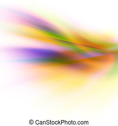 abstract colorful background on white.
