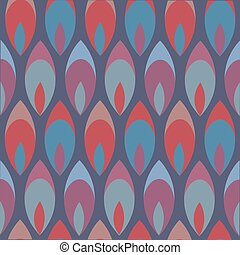 Abstract colorful background seamless pattern