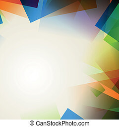 Abstract colorful background - Vector illustration of an ...