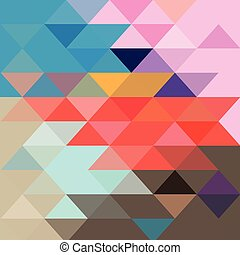 Abstract colorful background with different polygons -...