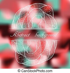 Abstract colorful background with pattern.