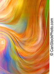 Abstract Colorful Blur Texture Background