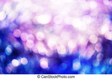 Abstract colorful bokeh background of christmas light