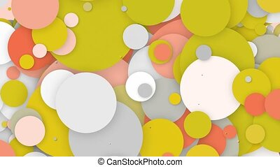 Abstract colorful circles