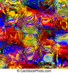Abstract Colorful Digital Effect