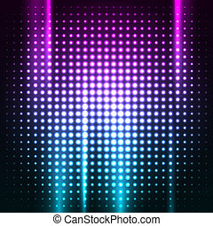 Abstract colorful disco club background vector illustration ...