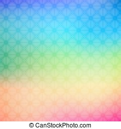 Abstract colorful geometric background in rainbow colors