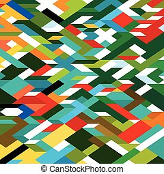 Abstract colorful geometric background, vector illustration