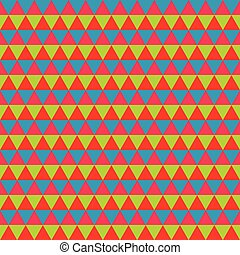 Abstract colorful geometric seamless pattern