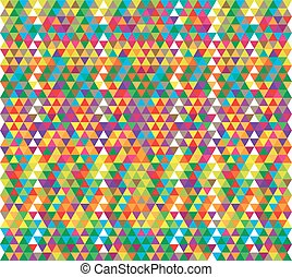 Abstract colorful geometric shapes. urban background