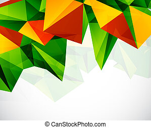 Abstract colorful geometric vector background