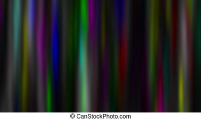 Abstract colorful glowing lines, loopable motion background