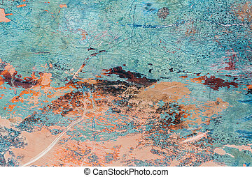 Abstract colorful grunge texture