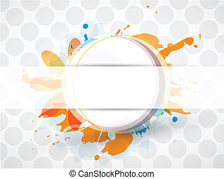 Abstract colorful grungy background