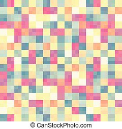 Abstract colorful in square box pattern background. -...