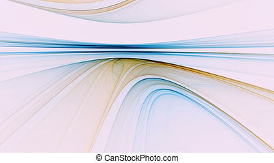 Abstract Colorful Linear Horizon - Abstract colorful horizon...