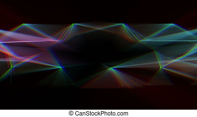Abstract colorful motion