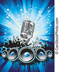 Music Event Background - Abstract Colorful Music Event ...