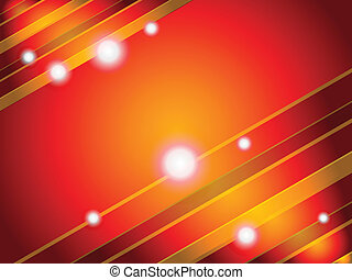 abstract colorful orange background