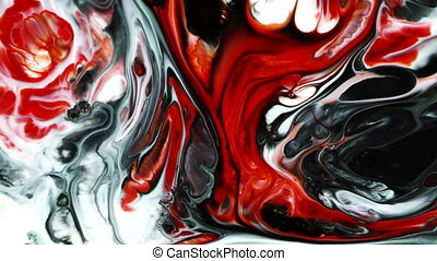 Abstract Colorful Paint Ink Liquid Explode Diffusion...