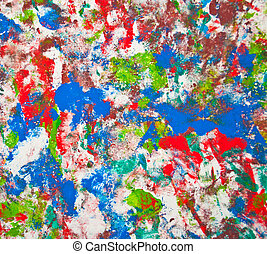 Abstract colorful painting background