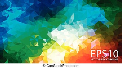 Abstract colorful pattern background.