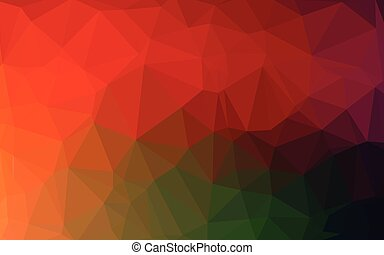 Abstract Colorful Polygonal Lowpoly Background. Vector...