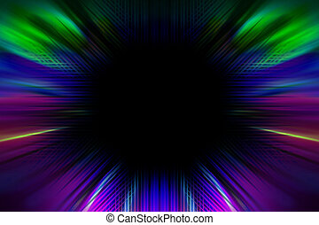 abstract colorful radiant background