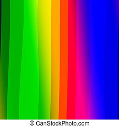 Abstract Colorful Rainbow Stripes Background