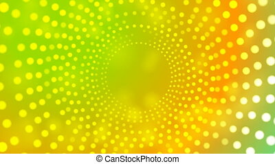 Abstract colorful retro light circles video animation
