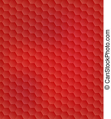 Abstract Colorful Seamless Hexagon Background. Vector...