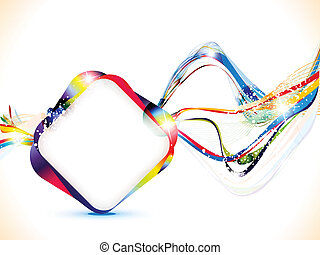 abstract colorful shiny background